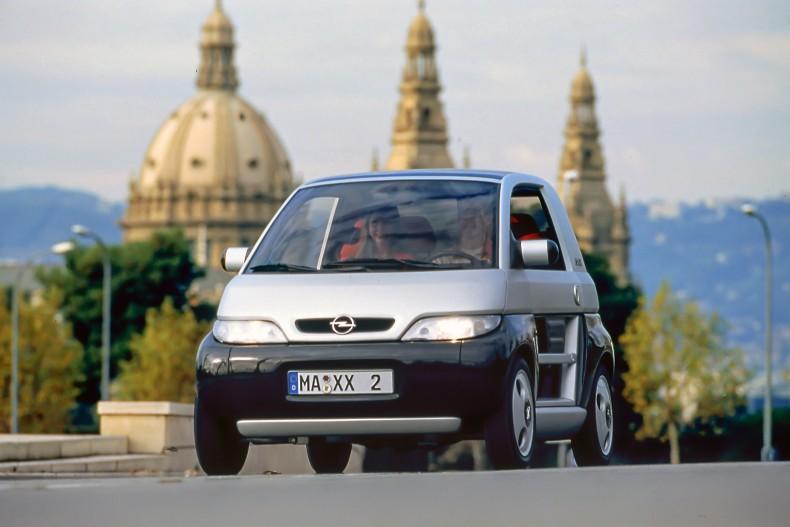 """Opel MAXX mit herausragend wirtschaftlichem Dreizylinder """"Ecotec 1.0 12V"""" (1995)"""