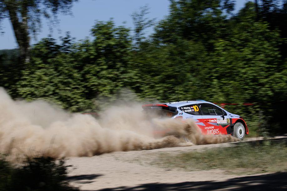 2015 Poland Rallye WRC copyright: Hyundai Motorsport