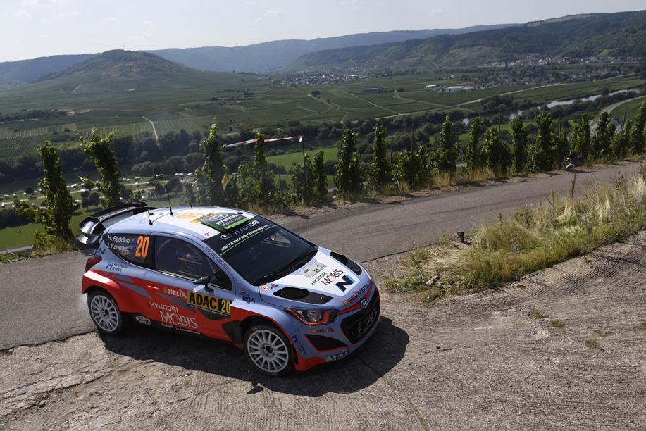 2015 Deutschland Rallye WRC copyright: Hyundai Motorsport
