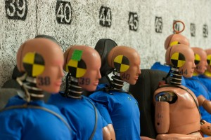 Volvo Cars' crash test dummies
