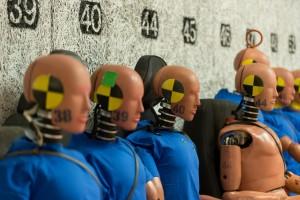 Volvo Cars' crash test dummies