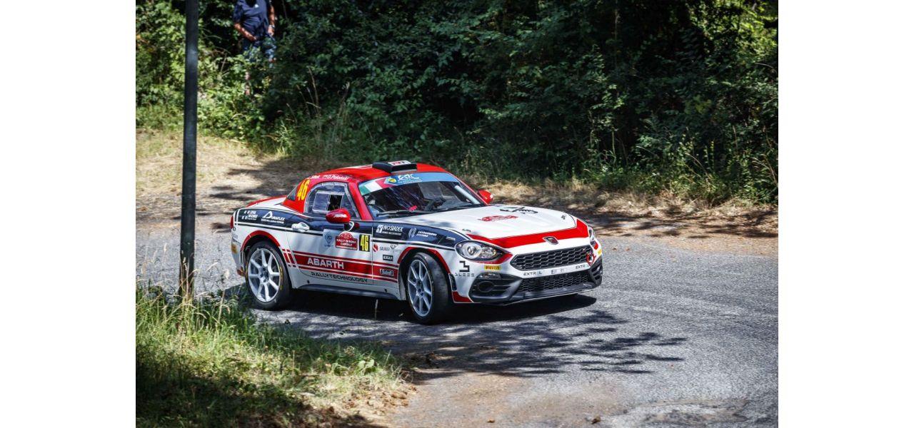 Abarth Rally Cup w Rajdzie Roma Capitale i sukces Polaków
