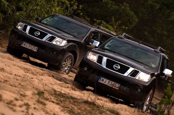 Nissan Pathfinder test