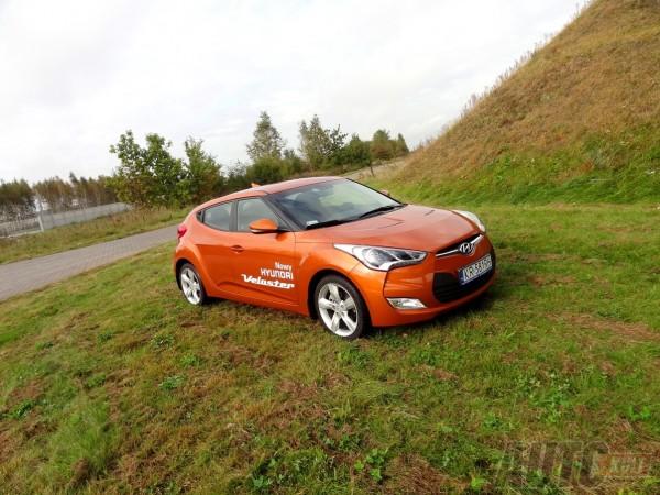 Hyundai Veloster test