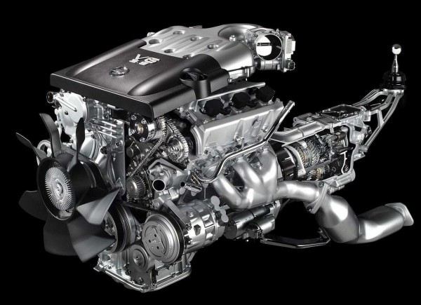 Nissan 350Z Silnik