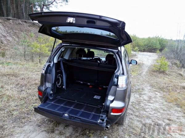 Mitsubishi Outlander test