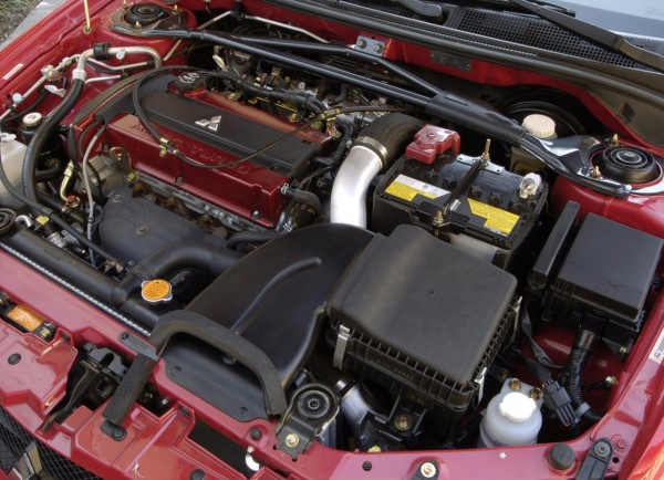 Mitsubishi Lancer Evolution MR Silnik