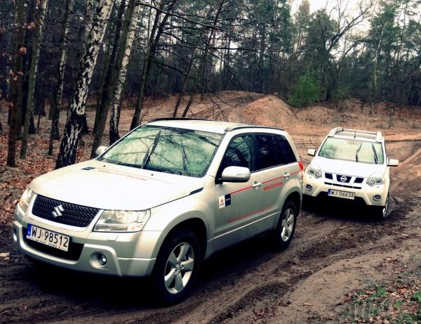 Suzuki Grand Vitara & Nissan X-Trail