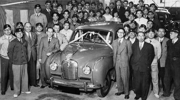 Austin A40 Somerset produkcja