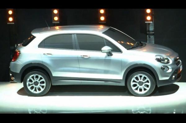 Fiat 500X - nieoficjalna wizualizacja