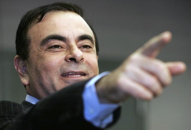 Carlos Ghosn (fot. Jeff Haynes/AFP/Getty Images)