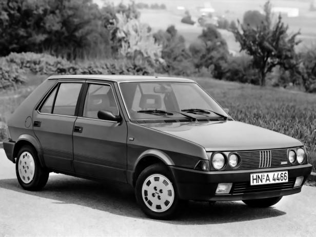 Fiat Ritmo po liftingu z 1985 r.