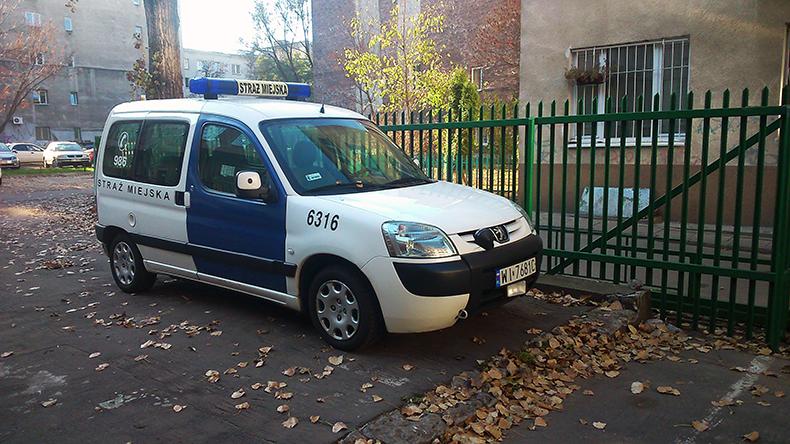 Radiowóz straży miejskiej z radarem | fot. Mariusz Zmysłowski © 2014
