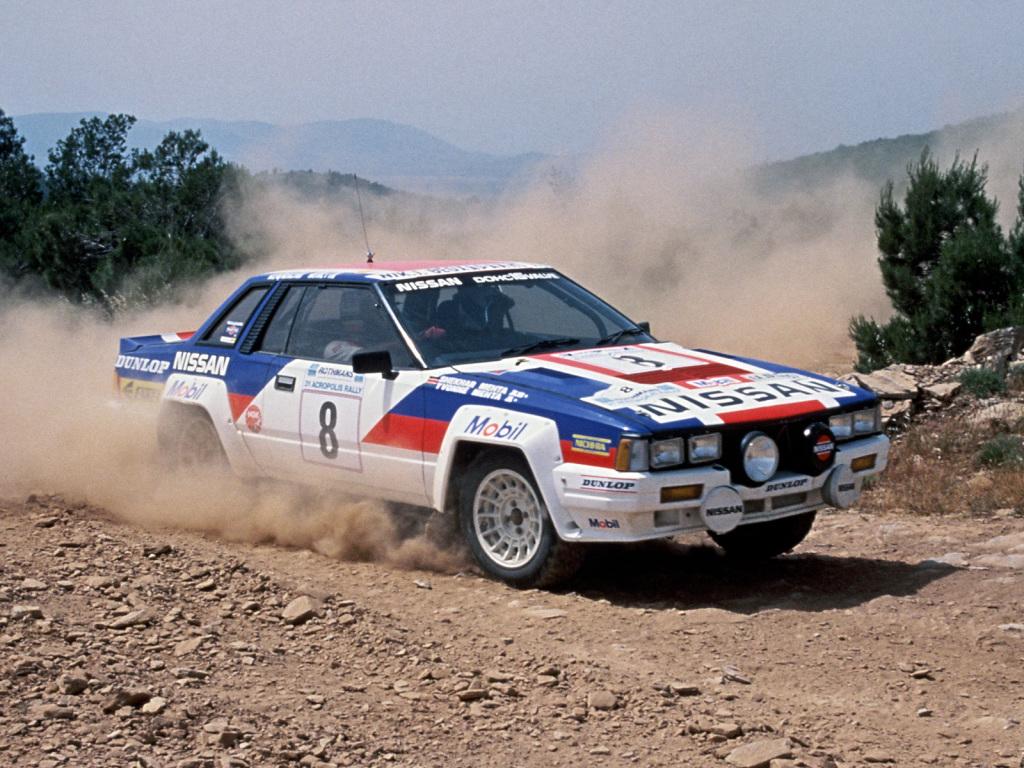 Znalezione obrazy dla zapytania Nissan 240 RS Rally
