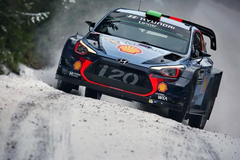 2017 FIA World Rally Championship, Round 02, Rally Sweden, 9-12 February 2017, Worldwide copyright: Hyundai Motorsport GmbH / RaceEmotion