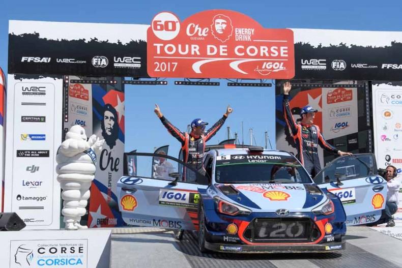 2017 FIA World Rally Championship, Round 04, Rallye de France 06-09 April 2017, Thierry Neuville, Nicolas Gilsoul,   Photographer: RaceEmotion, Worldwide copyright: Hyundai Motorsport GmbH