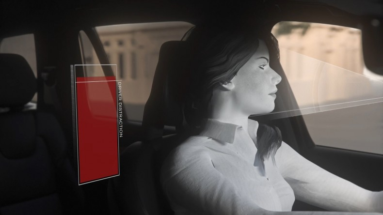 In-car cameras and intervention against intoxication, distraction: Animation