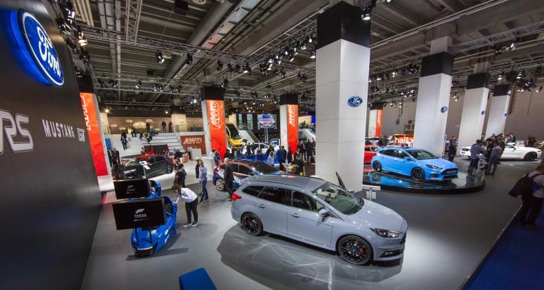 Stoisko Forda na targach samochodowych we Frankfurcie 2015 (IAA 2015)