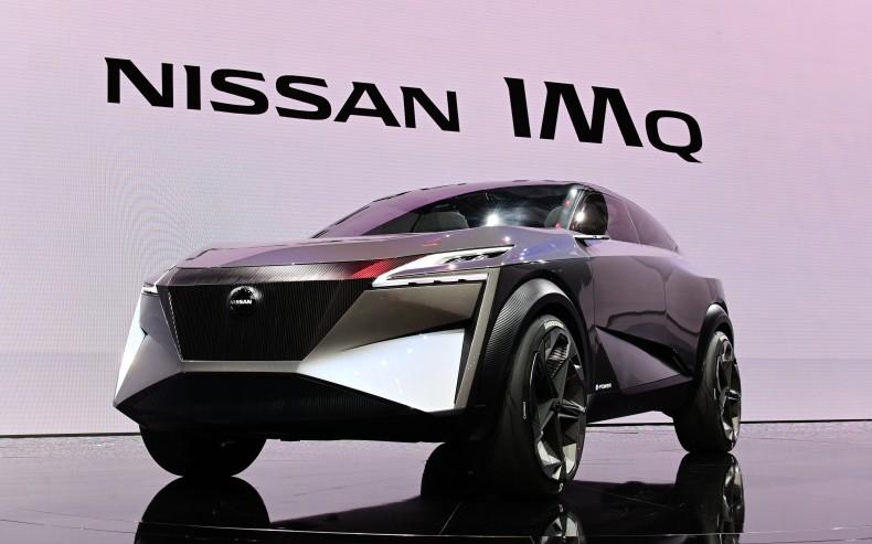 Nissan at Geneva Motor Show 2019 - Nissan IMQ Concept car