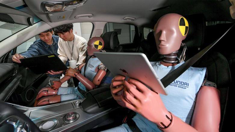 HMG system ochrony pasażerów w pojazdach autonomicznych 02