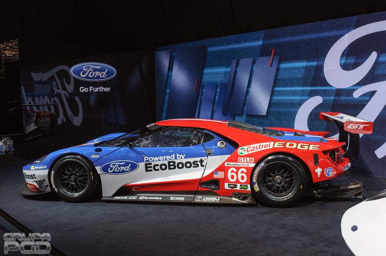 Ford GT - wersja wyścigowa