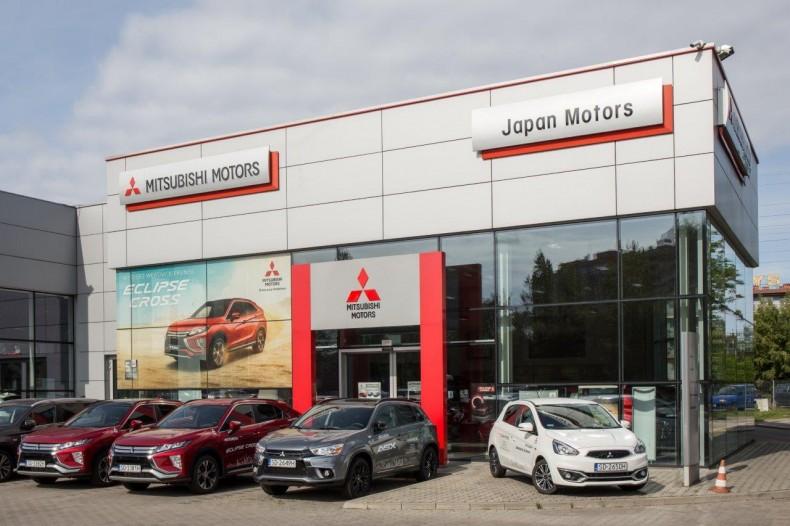 Salon Mitsubishi Japan Motors z Sosnowca