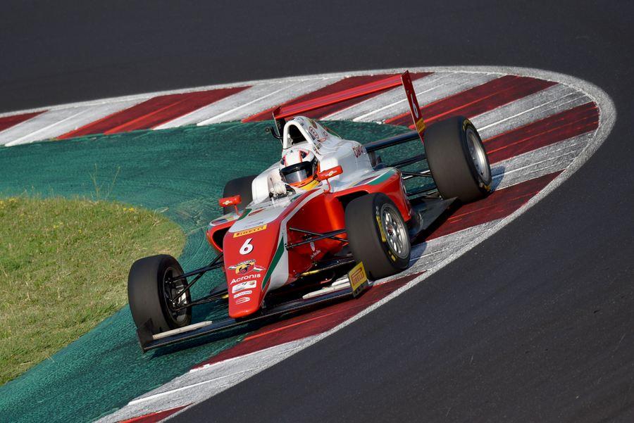 Montoya Sebastian, Tatuus F.4 T014 Abarth #6, Prema Powerteam