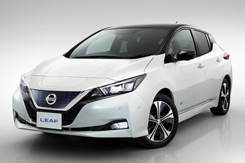 New Nissan LEAF-source