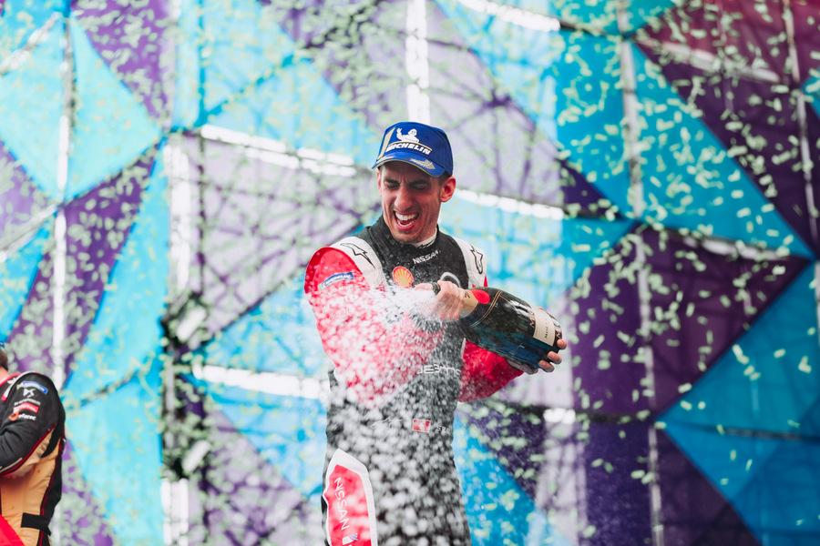   Driver: Sebastien Buemi  Team: Nissan e.dams  Number: 23  Car: IM02    Photographer: Shivraj Gohil  Event: Mexico City E-Prix  Circuit: Autodromo Hermanos Rodriguez  Location: Mexico City  Series: FIA Formula E  Season: 2019-2020  Country: Mexico   Session: Race 