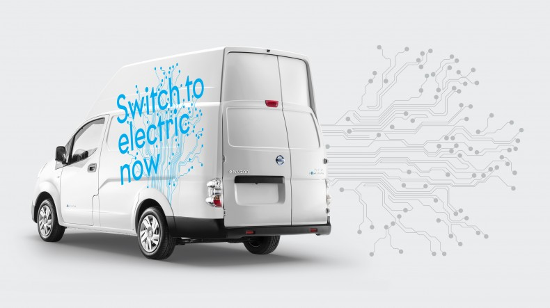 Nissan expands its electric e-NV200 line-up across Europe with the versatile e-NV200 XL Voltia