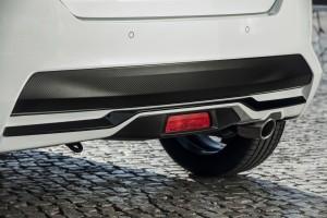 Nowe silniki w Nissanie Micra - biala Micra N-Sport - Exterior Rear Details-source