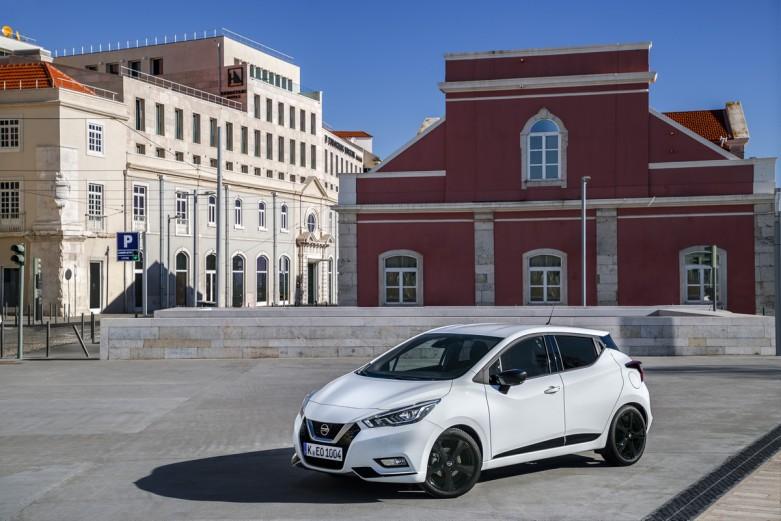 Nowe silniki w Nissanie Micra - biala Micra N-Sport - Static Front-1200x801