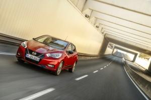 Nowe silniki w Nissanie Micra - czerwona Micra Xtronic - Dynamic Front 25-source