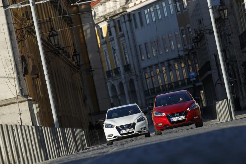 Nowe silniki w Nissanie Micra - czerwona Micra Xtronic - Dynamic Front 3 (m0KFQz)-1200x800