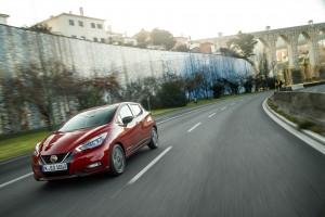Nowe silniki w Nissanie Micra - czerwona Micra Xtronic - Dynamic Front 4-source