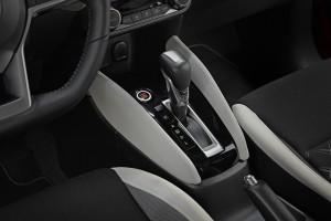 Nowe silniki w Nissanie Micra - czerwona Micra Xtronic - Interior Details - Gear stick-1200x800