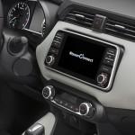 Nowe silniki w Nissanie Micra - czerwona Micra Xtronic - Interior Details - Nissan Connect 1-source