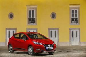 Nowe silniki w Nissanie Micra - czerwona Micra Xtronic - Static front 1-source
