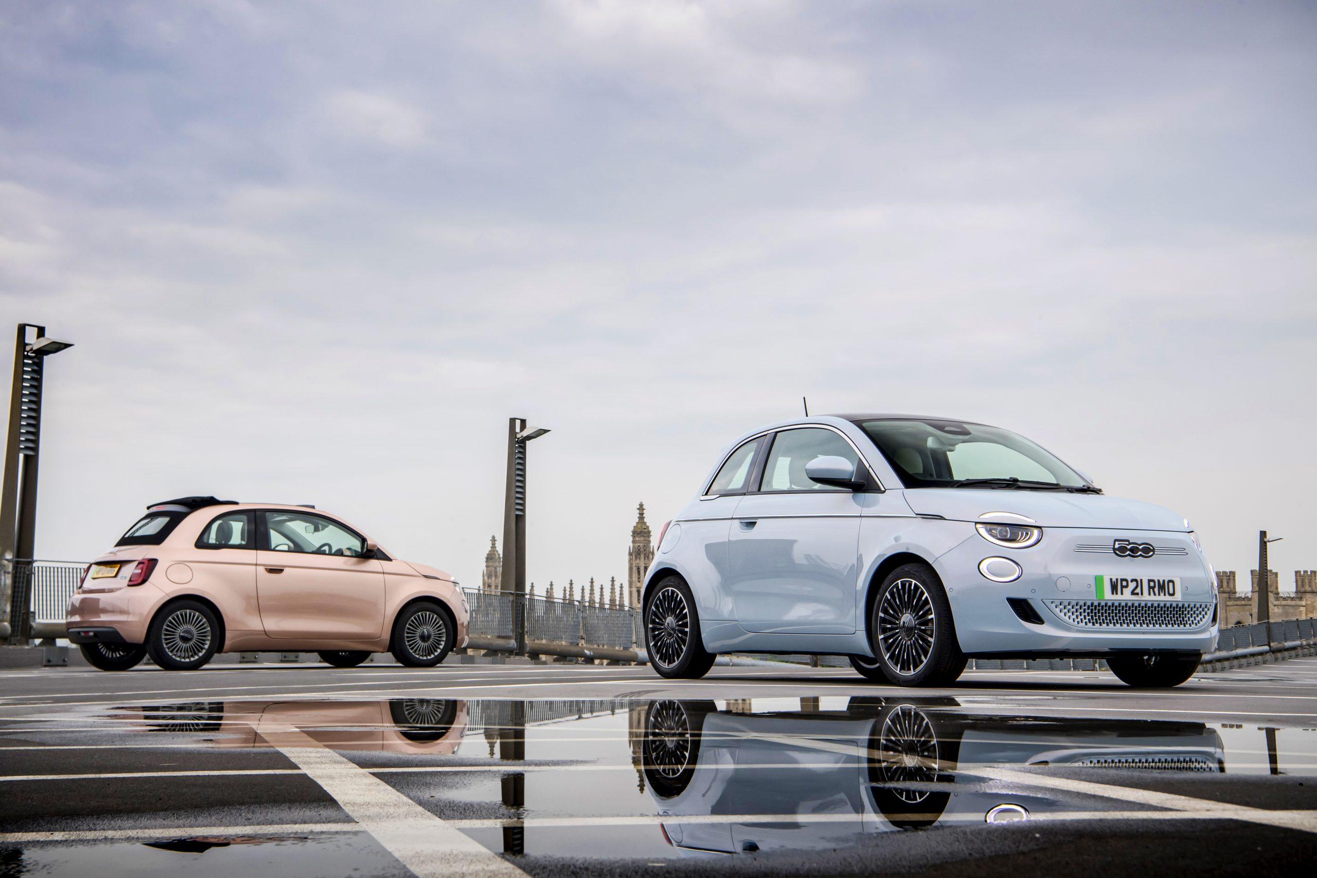 Nowy Fiat 500 - Mały Samochód Roku w konkursie News UK Motor Awards