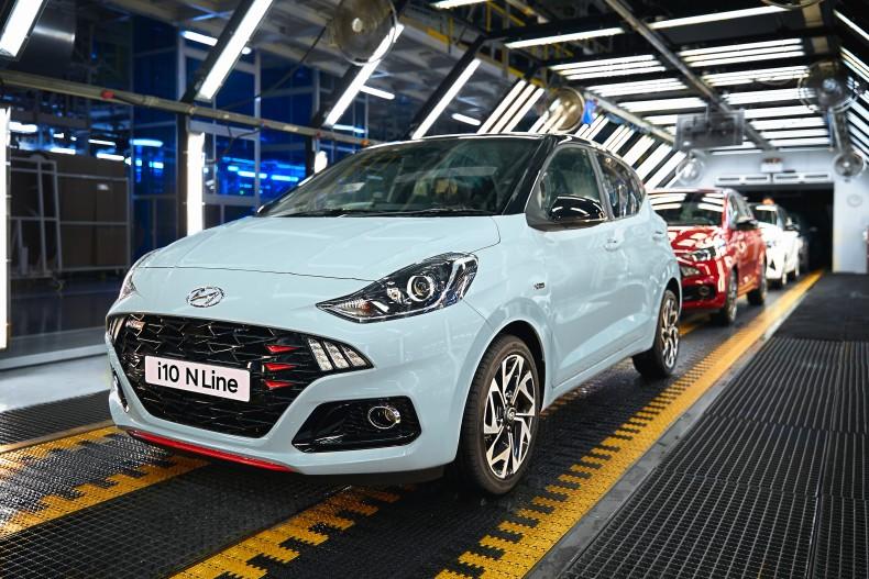 Nowy Hyundai i10 N Line - Rozpocz⌐cie produkcji
