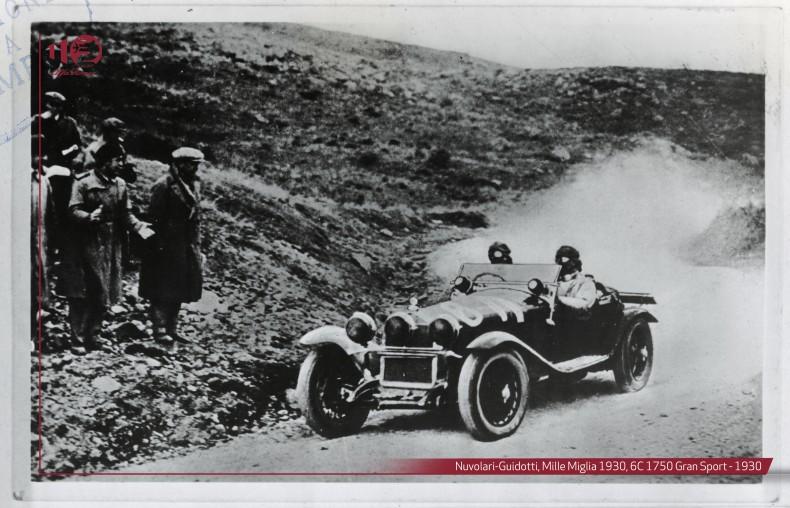 Nuvolari-Guidotti,-Mille-Miglia-1930,-6C-1750-Gran-Sport---1930