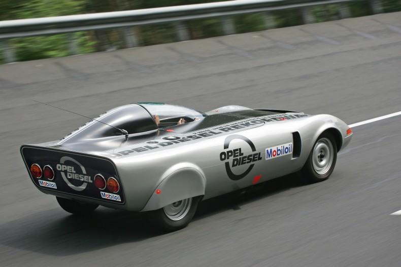 Opel Rekordenwagen Diesel