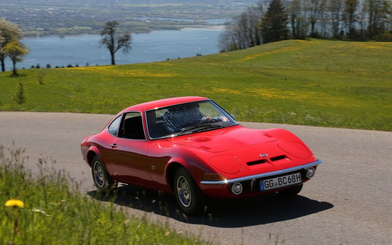 50th anniversary of the Opel GT