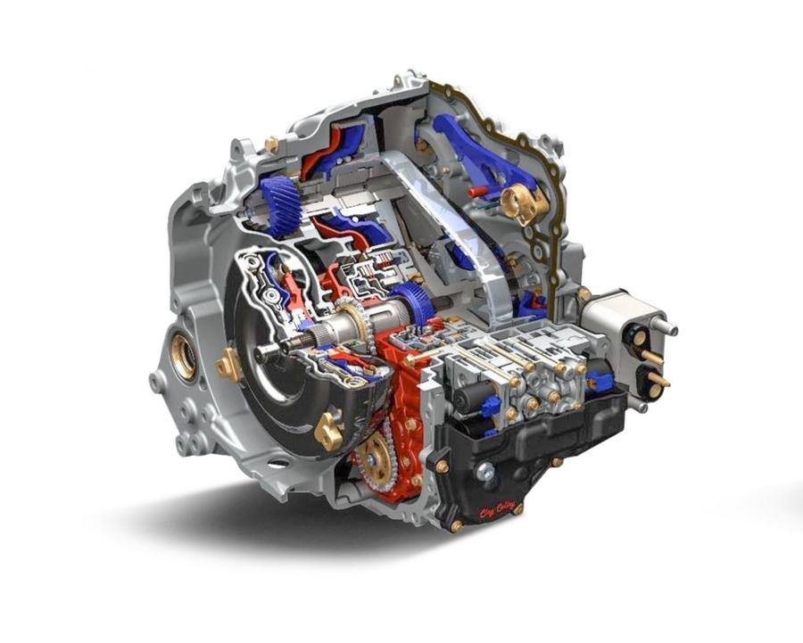 CVT transmission, Opel Astra K