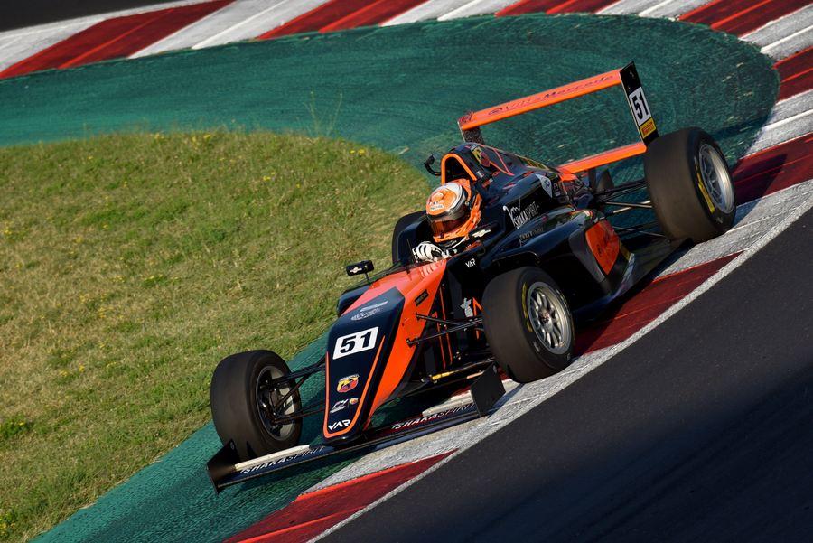 Pizzi Francesco, Tatuus F.4 T014 Abarth #51, Van Amersfoort Racing