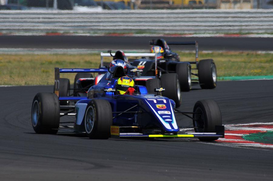 Rosso Andrea, Tatuus F.4 T014 Abarth #77, Cram Motorsport