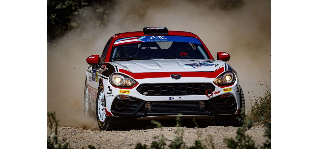 Dariusz Poloński wygrywa  2. rundę Abarth Rally Cup