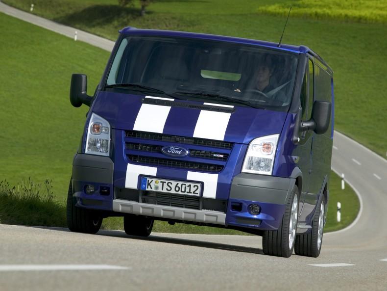 Ford Transit SportVan inspirowany Sportvanami