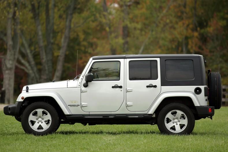 Odmiana pięciodrzwiowa Unlimited i silnik Diesla - dwie rzeczy, które otworzyły Wranglera na europejskiego klienta.
