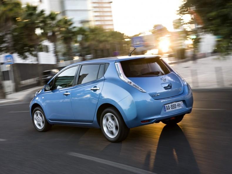 Nissan Leaf 2011-2013